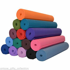 Yoga Mat For exercise Fitness,Meditation,Yoga,GYM Workout ( non-slippery) 4mm