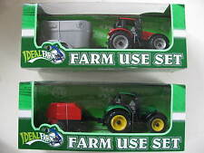Farm Vehicles Playsets Various Tractors Trailers Bailers Livestock Crops Cattle