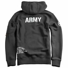 "Alpha Industries ""ARMY ZIP HOODY"" - black"