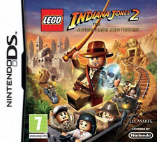 BRAND NEW!!! • LEGO - INDIANA JONES 2 - THE ADVENTURE CONTINUES • DS • UK SELLER