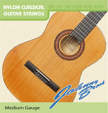 5x Classical Guitar Strings Nylon - light Gauge Sets of 6 Johnny Brook