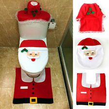 Christmas  santa  toilet sit