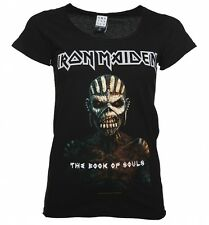 Women's Black Iron Maiden Book Of Souls T-Shirt from Amplified