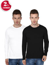 2 Combo Pack Multicolored Full Sleeve Tshirts-GSM 190 - Rs.769