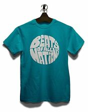 Beats Of All Nations Logo Weiss T-Shirt Hip Hop Reggea Edm Elektro Sven Väth