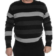 Pierre Cardin Extra Large Crew Neck Knitted Jumper Mens ~All Sizes 3XL - 6XL NEW