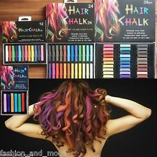 CRAIE DE CHEVEUX POUDRE COLORATION SEMI-PERMANENTE CHALK COLORANT D'IMMERSION