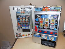 FAIRGROUND One Armed Bandit Fruit Machine ARCADE GIFT GADGET TOY Faulty Spares