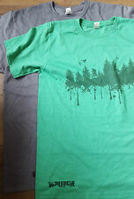 Forest Print Mountain Bike MTB Organic / recycled / sustainable t-shirt Wolfride