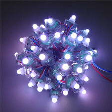 50x WS2811 WS2801 T1515 RGB Full Color Diffused Digital LED Pixel Module String