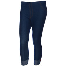 Blue Capri Jeggings