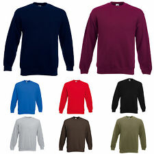 Fruit of the Loom F324N Herren  Sweatshirt Pullover Pulli Oberteil  S M L XL XXL