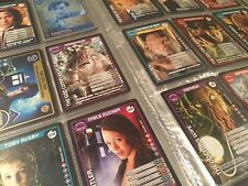 DOCTOR WHO MONSTER INVASION RARE, ULTRA & SUPER RARE CARDS PICK YOUR OWN