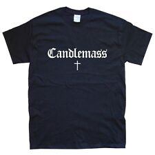 CANDLEMASS CAMISETA tallas S M L XL XXL colores Negro, Blanco