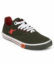 Sparx Brand Mens Olive Casual Canvas Sneakers Shoes SM192
