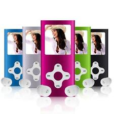 LETTORE PLAYER MP3 MP4 MEMORIA 4 8 16 32 GB AUDIO VIDEO FOTO RADIO FM 5 COLORI