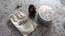 3.5 INCH GANZ MINIATURE DRESSED BEAR NEW WITH TAG
