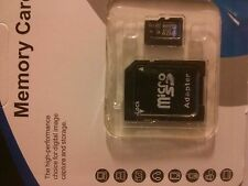 64GB Class 10 Micro SD SDHC mini Memory Card TF Flash and Adapter - UK Seller