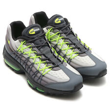 NIKE AIR MAX 95 ULTRA SE 845033-007 GRIGIO NERO SCARPA UOMO SNEAKERS ORIGINALS