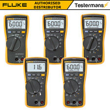 Fluke 113 114 115 116 117 True RMS Digital Multimeter HVAC Genuine