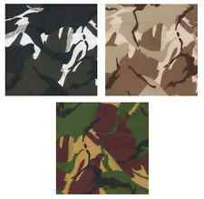 """Water Resistant Army Military Camouflage Fabric 59""""/150cm wide Material RIPSTOP"""