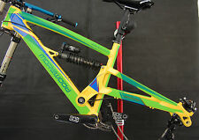 Bike Lackschutzfolie - Morewood Izimu (2011-...) - paint protection film