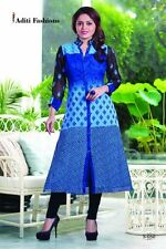 Designer Embroidery Kurti for Partywear with Goergette fabric S050