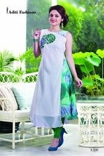 Designer Embroidery Kurti for Partywear with Goergette fabric S040