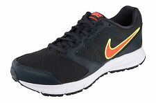 Nike Brand Mens Original Downshifter Grey Orange Running Shoes
