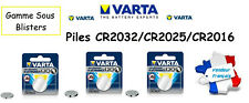 Pile/battery bouton Varta 3V Lithium CR2032/CR2025/CR2016 EXP 2025