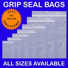 1000 15 x 20 Strong Grip Seal Resealable Clear Plastic Bag Cheapest GOOD Quality