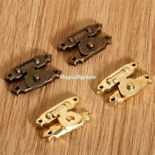 Decorative Antique Vintage Jewellery Box Latch Catch Gift Wood Chest Hasp Lock