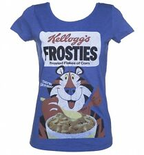 Women's Vintage Kelloggs Frosties Scoop Neck T-Shirt