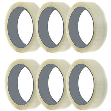 TAPE ROLLS OF CLEAR STRONG PARCEL PACKING TAPE SELLOTAPE PACKAGING 25MM x 66M