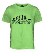 TEDESCA PINSCHER EVOLUTION OF MEN DA UOMO T-SHIRT MAGLIETTA AMANTI DEI CANI