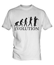 FAGOT EVOLUTION OF MAN PARTE SUPERIOR EL HOMBRE CAMISETA TEE MÚSICO DE REGALO
