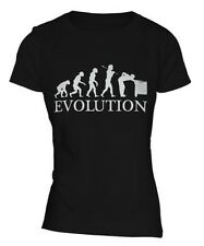 BILLAR PLAYER EVOLUTION OF MAN MUJER CAMISETA TOP REGALO SEÑAL ESFERAS