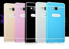 Aluminium metal Bumper frame + Plastic back case for Samsung Galaxy On7 pro 5.5