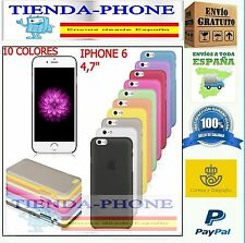 "FUNDA BUMPER CARCASA  para Apple iPhone 6S 6 4.7"" CRISTALES TEMPLADO.CASE"