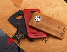 Pierre Cardin Genuine Leather Back Case Cover For Samsung Galaxy Note7 Note 7
