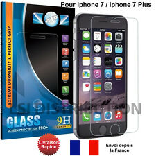 VITRE PROTECTION en VERRE TREMPE Film protecteur - iPhone 7 / iPhone 7 Plus