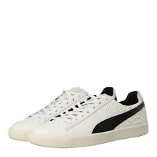 "New Mens Puma  Clyde MII ""Made in Italy"" - Whisper White 100% Leather"