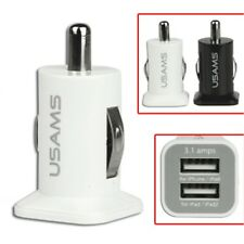 Dual 2 USB Car Charger For iPhone/iPad/ Samsung Galaxy Tab/Other Smartphone