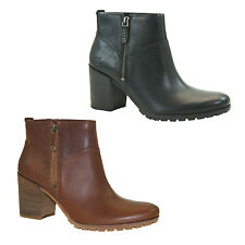 Timberland Swazey Ankle Boots Ladies Ankle Boots Boots Zip Heel NEW