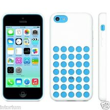 Apple iPhone 5C Original Soft Silicon Dot Patterned Rubber Back Case Cover