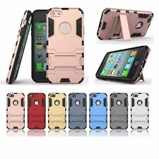 Hybrid Armor Dual Shield ShockProof Defender Back Case iPhone 5 5S + ScratchGard
