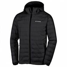 Columbia Men's Powder Lite Hooded Omni-Heat Insulated Jacket - AW16: Black