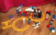 Thomas the tank engine Mega Bloks train set brick bundle Harold Plus Crane