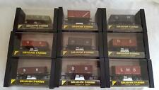 GRAHAM FARISH PLASTIC BOX STYLE  00 GAUGE PAY JUST ONE POSTAGE VARIOUS WAGONS