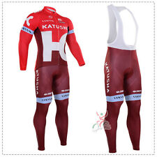 Ropa ciclismo entretiempo: Katusha tour 2016 maillot cycling otoño pants jersey